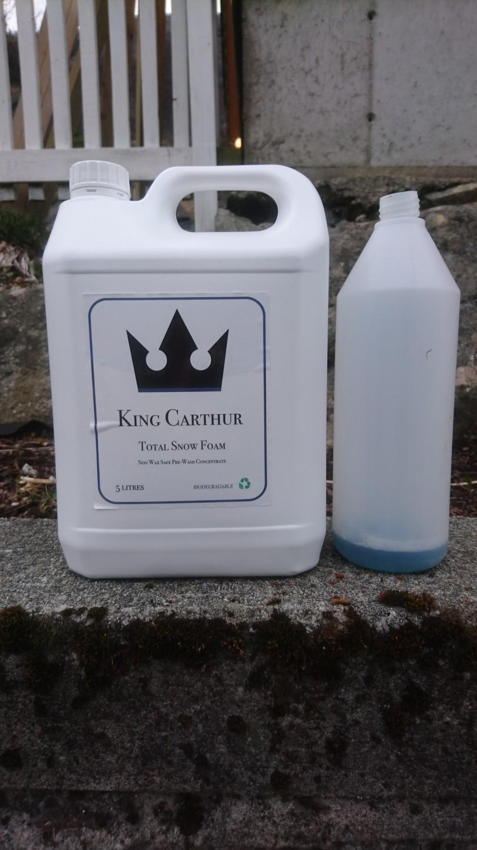test av king carthur total snow foam test av produkter. Black Bedroom Furniture Sets. Home Design Ideas